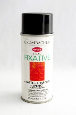 Grumbacher Oil Medium: Final Fixative Gloss 133ml