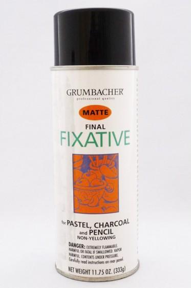 Grumbacher Oil Medium: Final Fixative Matte 325ml