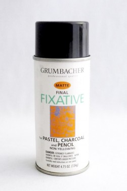 Grumbacher Oil Medium: Final Fixative Matte 133ml