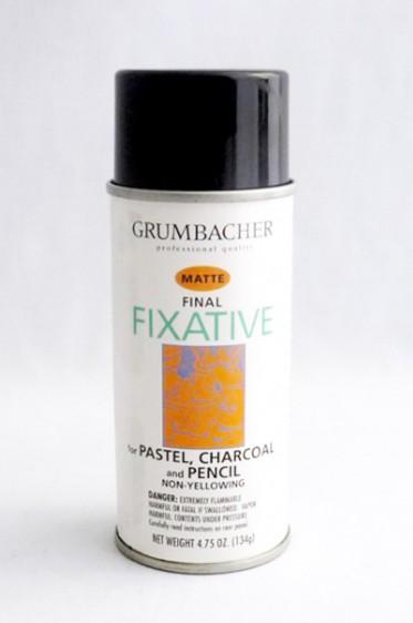 Grumbacher Oil Medium: Final Fixative Matte 133ml