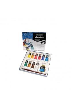 Winsor & Newton Water Mixable Oil:  Studio Set 37ML x 10pcs