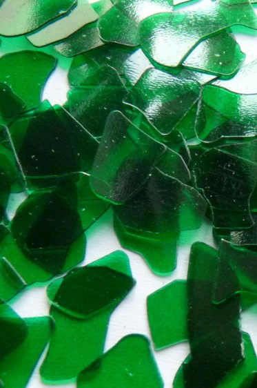 Rigid Chips & Flakes: Rigid Chips Clear Green 50g