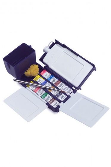 Winsor & Newton Cotman Watercolor: Cotman Field Box 12 Half Pan