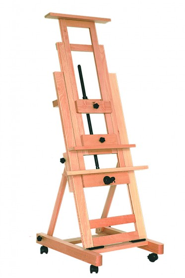 Easel: Single Rocker Studio Easel