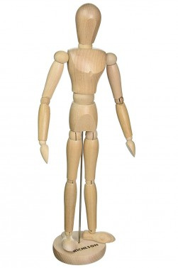 Wooden Mannequin & Models: Jack Richeson Male Manikin 16Height