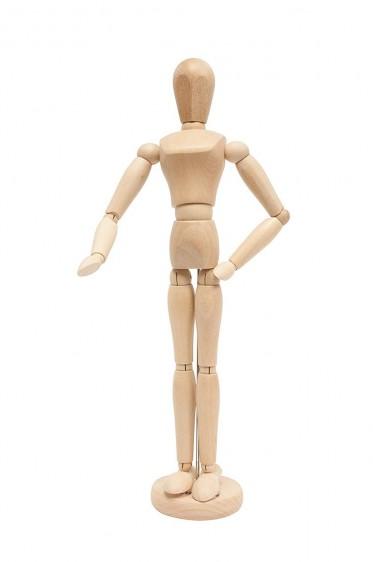Wooden Mannequin & Models: Jack Richeson Female Manikin 16Height