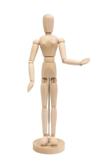 Wooden Mannequin & Models: Jack Richeson Female Manikin 26Height
