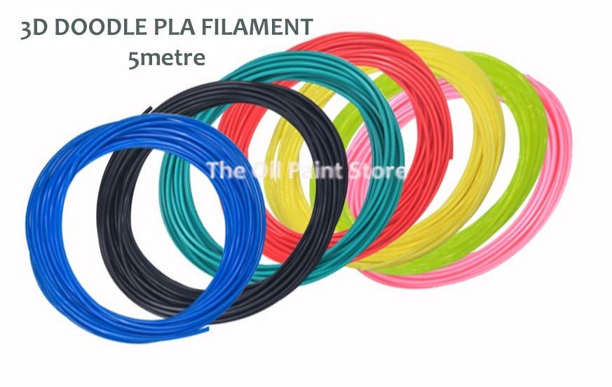 3D Doodle PLA Filament:
