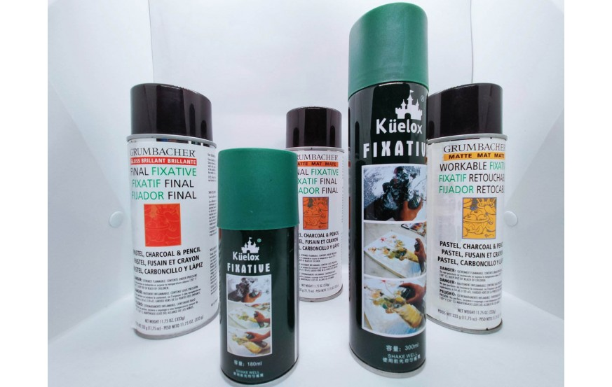 Fixative for Charcoal, Pastel & Pencil