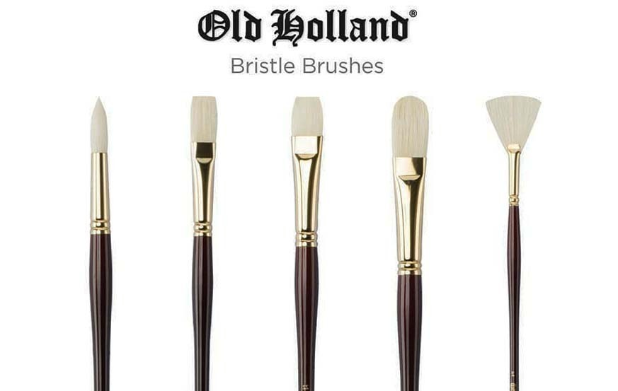 OLD HOLLAND BRISTLE BRUSH