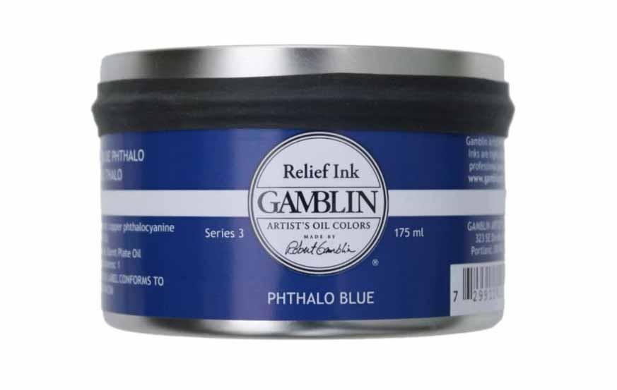 Gamblin Relief Inks