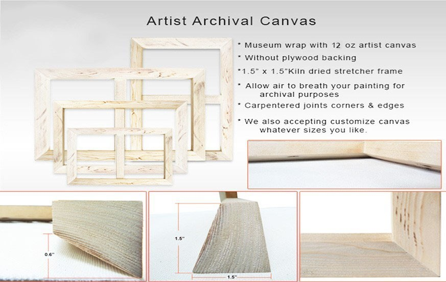 Artist Archival Canvas