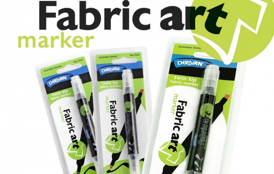 Derivan Fabric Art Marker