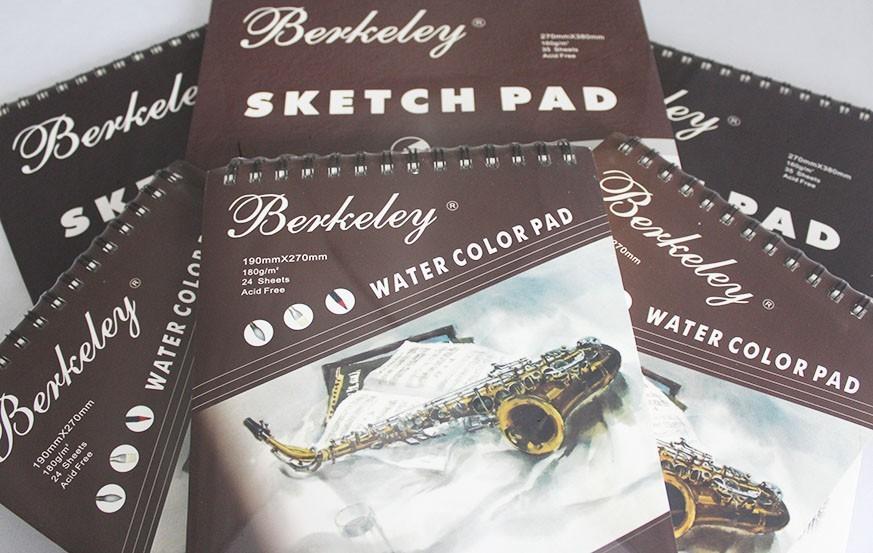 Berkeley Sketch & Watercolor Pad