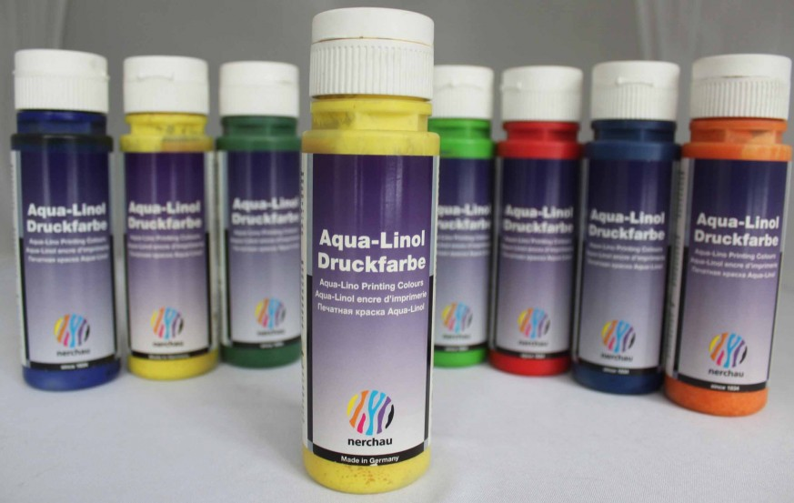 Lukas Nerchau Aqua-Linol Printing Ink