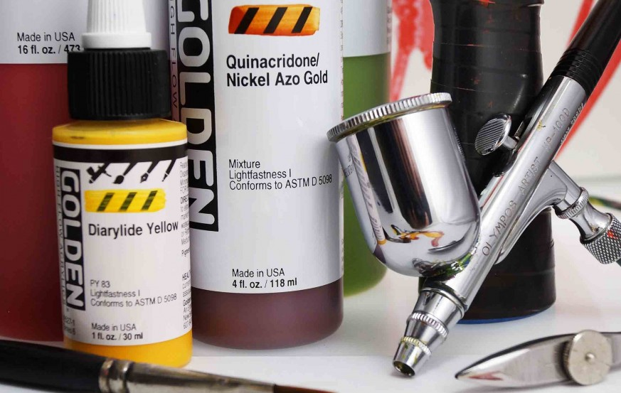 Golden Acrylic for Airbrush