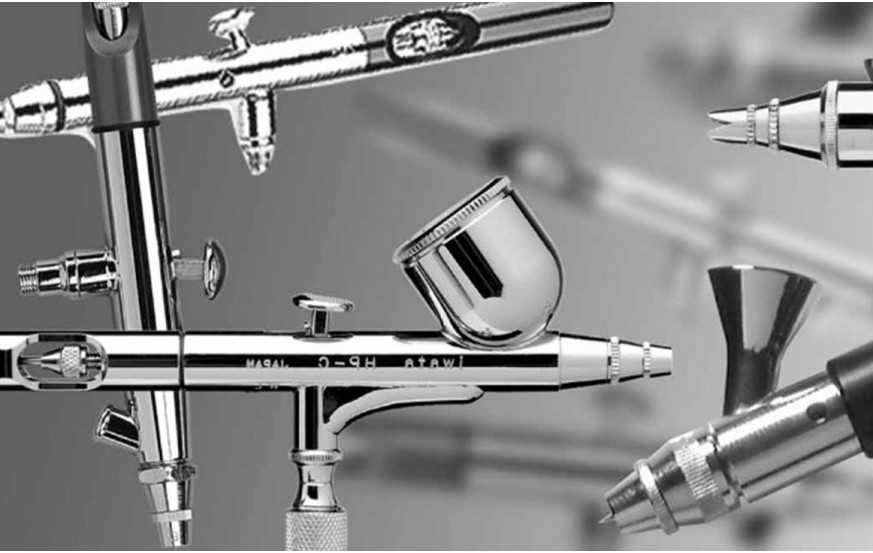 Airbrush, Parts & Accessories