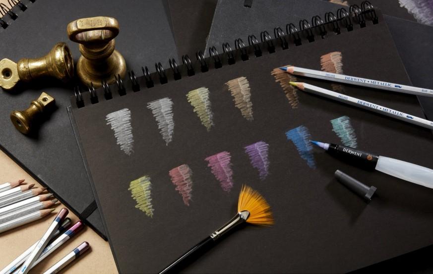 Derwent Metallic Color Pencil
