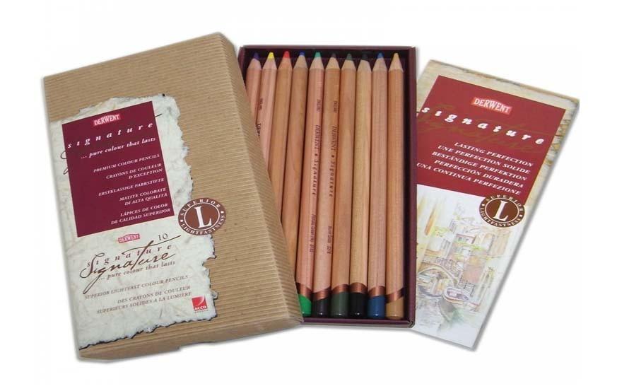 Derwent Signature Color Pencil