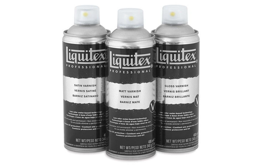 Liquitex Spray Paint Varnish