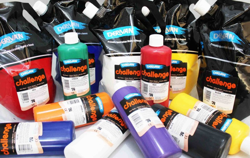 Derivan Challenge Acrylic Paints