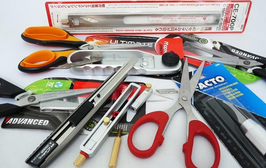 Cutter, Knife & Blades