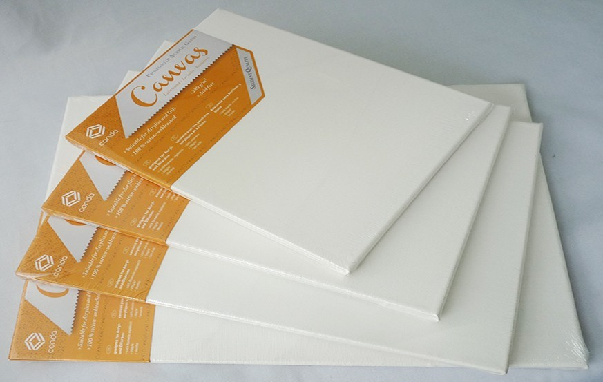 Conda Stretched Canvas