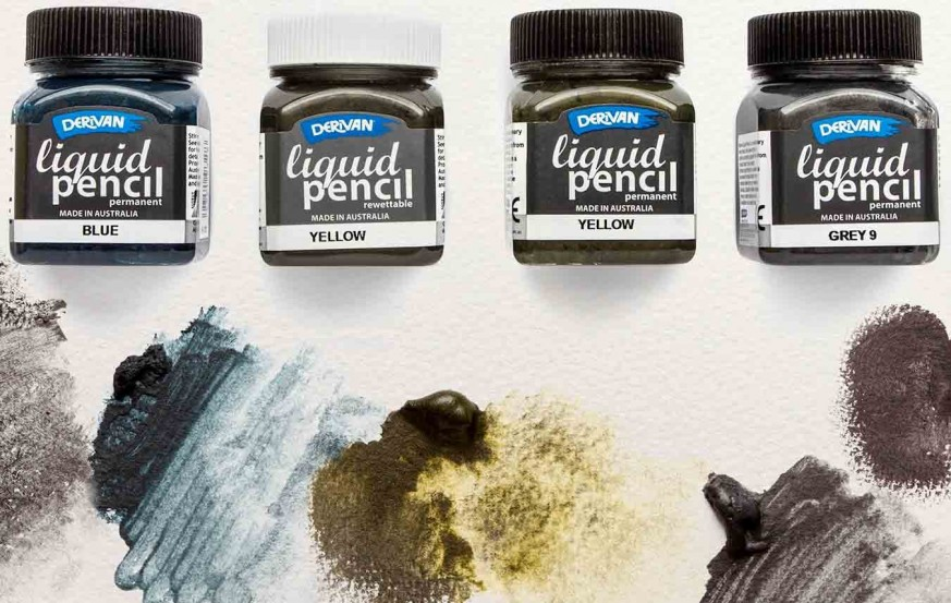 Derivan Liquid Pencils