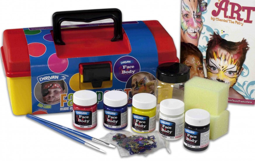 Derivan Face & Body Paint Tools