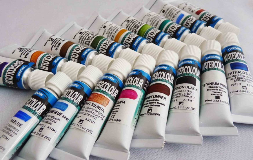 Derivan Artist Watercolor Paints