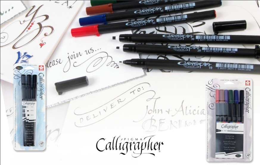Sakura Pigma Caligraphy  Pen