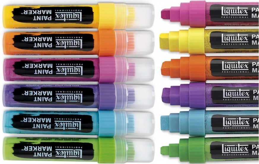 Liquitex Paint Marker Wide Tips