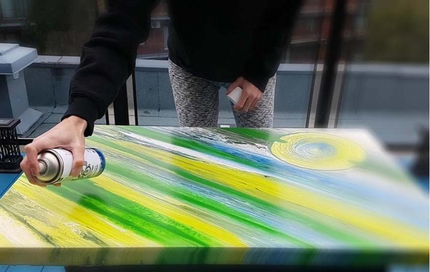 Painting Varnish Brush/Spray