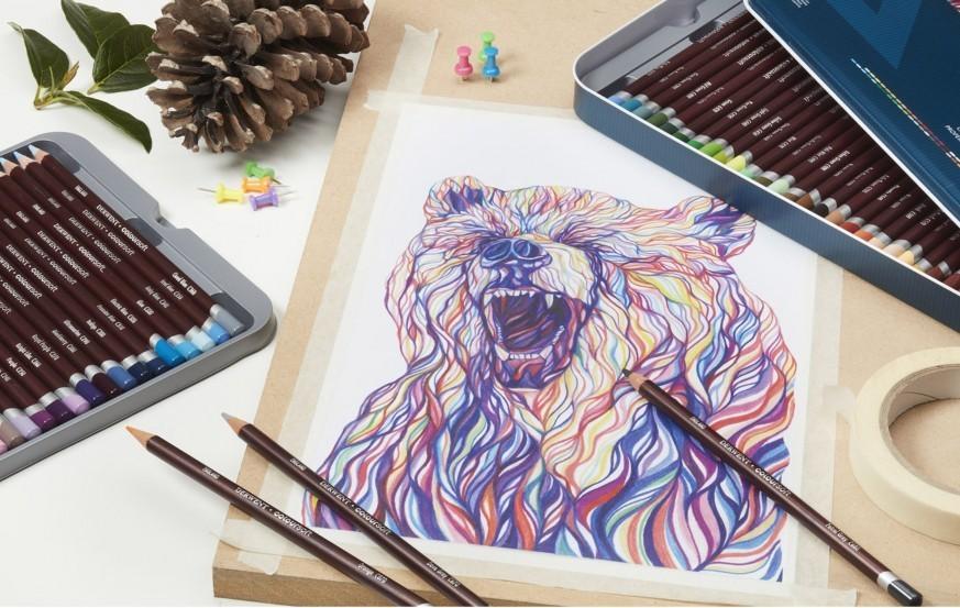 Derwent Coloursoft Colored Pencil
