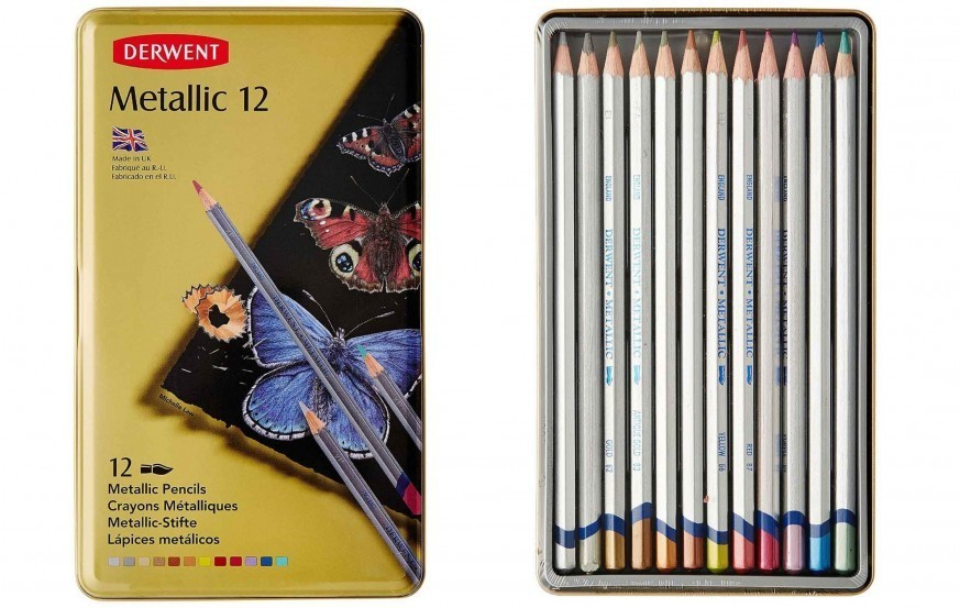 Derwent Metallic Color Pencil