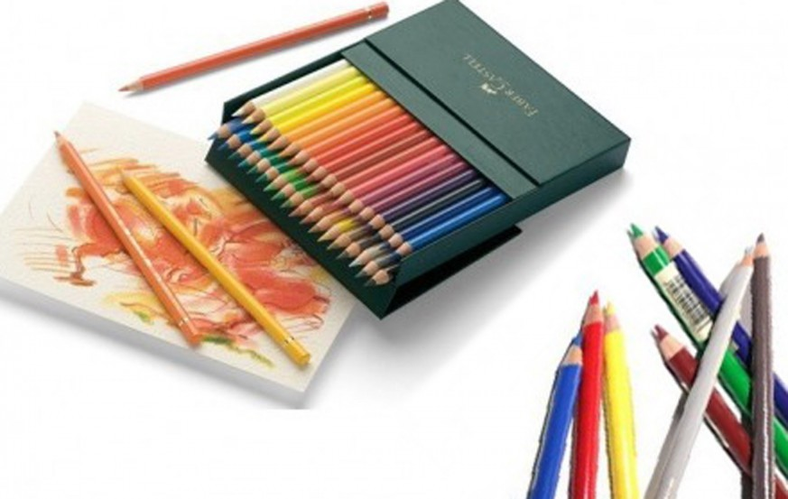 Faber Castell Polychromos Colored and Pastel Pencil