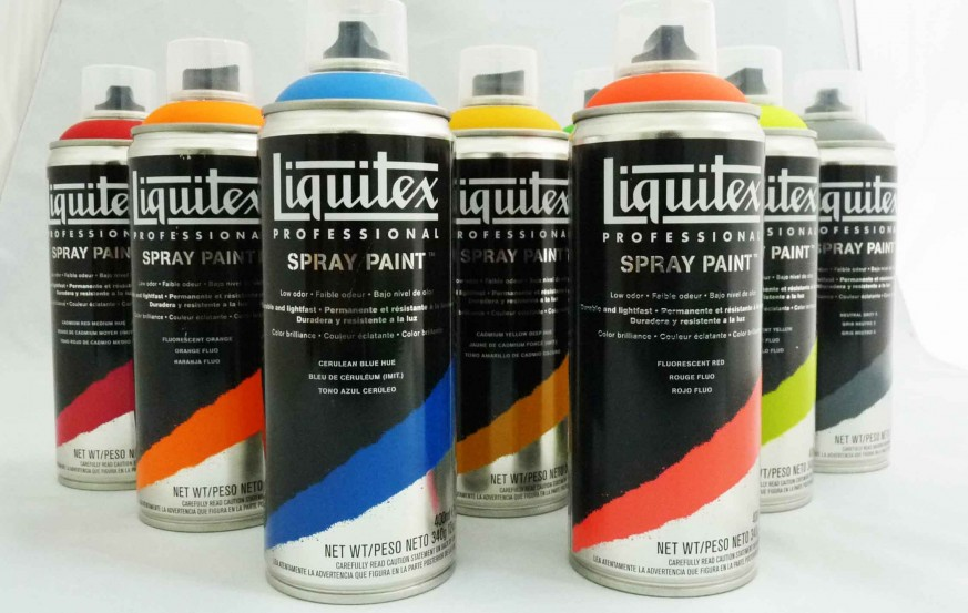 Liquitex Acrylic Spray Paint