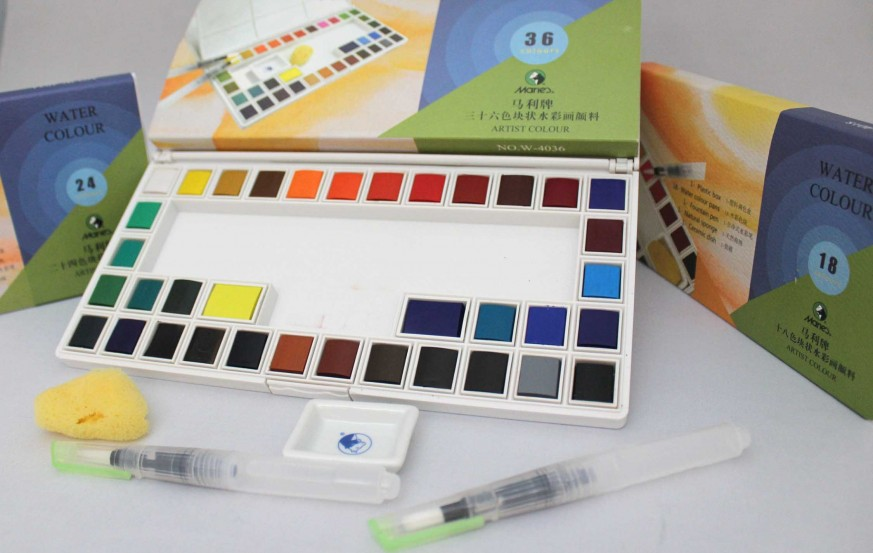 Maries Water Colour Sets