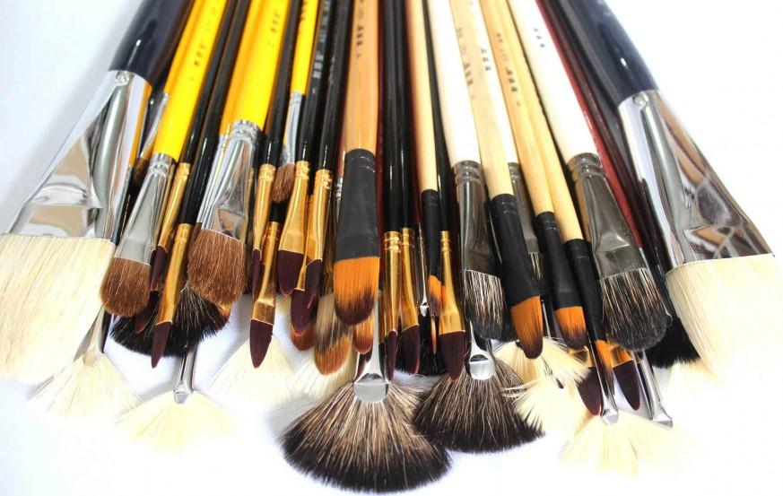 Fan & Filbert Brush