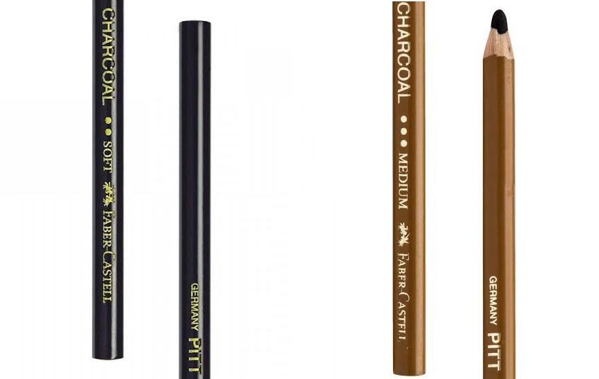 Faber-Castell Pitt Charcoal Pencil