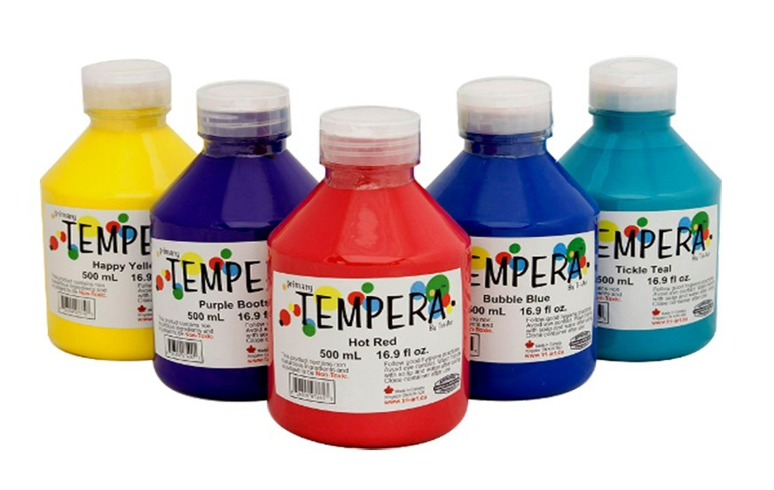 Tri Art Tempera Paints