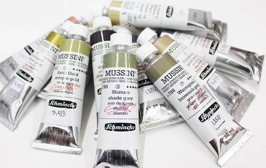 Schmincke Mussini Oil Colors